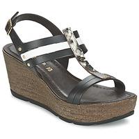 Zapatos Mujer Sandalias Café Noir LAPIBO Negro