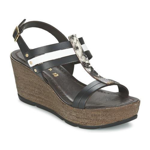 Zapatos promocionales Café Noir LAPIBO Negro  Zapatos de mujer baratos zapatos de mujer