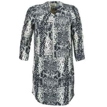 textil Mujer vestidos cortos Stella Forest EDERI Marino / Blanco