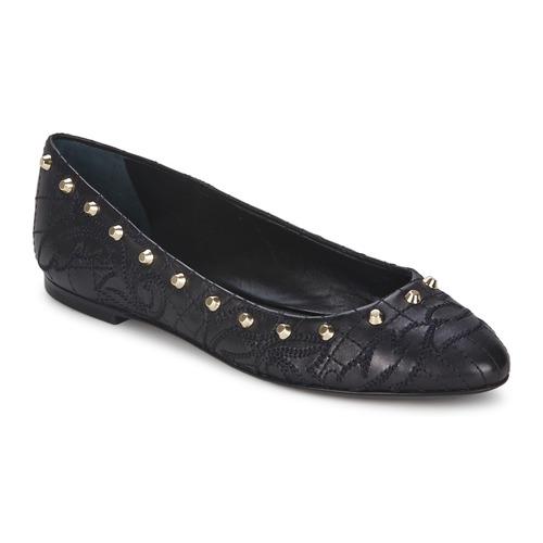 Zapatos casuales salvajes Zapatos especiales Versace DSL787C Negro / Dorado