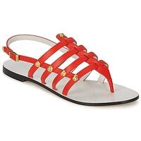 Zapatos Mujer Sandalias Versace DSL944C Coral