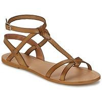 Zapatos Mujer Sandalias So Size BEALO Marrón