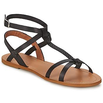 Zapatos Mujer Sandalias So Size BEALO Negro