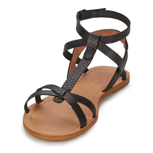 Zapatos Sandalias Bealo So Size Mujer Negro j34LAR5