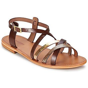 Zapatos Mujer Sandalias Les Tropéziennes par M Belarbi HAPAX Marrón / DORADO