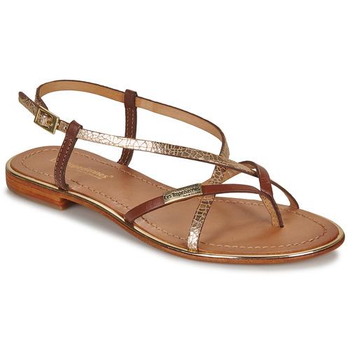 Zapatos Mujer Sandalias Les Tropéziennes par M Belarbi MONACO Tan / Dorado