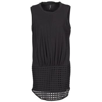 textil Mujer vestidos cortos Yas CUBE Negro