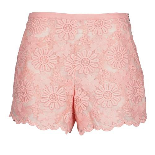 Manoush AFRICAN SHORT Coral - Envío gratis   ! - textil Shorts / Bermudas Mujer
