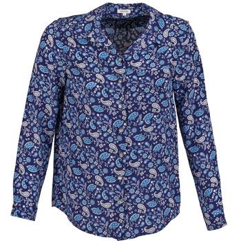 textil Mujer camisas Manoush BANDANA SILK Azul