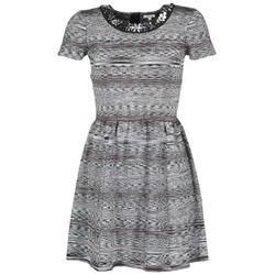 textil Mujer vestidos cortos Manoush BIJOU ROBE Negro / Gris