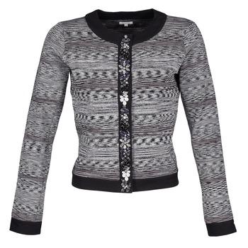 textil Mujer Chaquetas / Americana Manoush BIJOU VESTE Negro / Gris