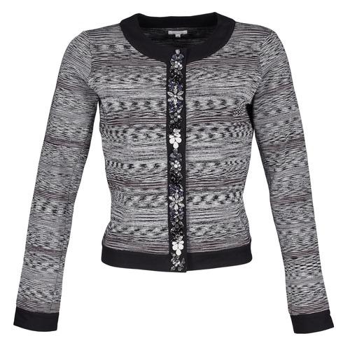 Manoush Negro Veste Mujer Gris ChaquetasAmericana Textil Bijou 3RLA45jq