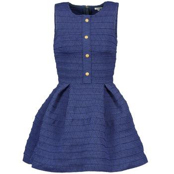 textil Mujer Vestidos cortos Manoush ELASTIC Azul