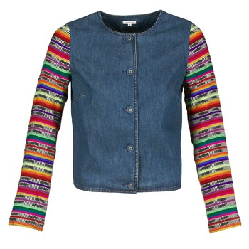 textil Mujer Chaquetas / Americana Manoush INDIAN DENIM Azul