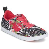 Zapatos Mujer Zapatillas bajas Desigual FUN-EVA Negro / Rojo