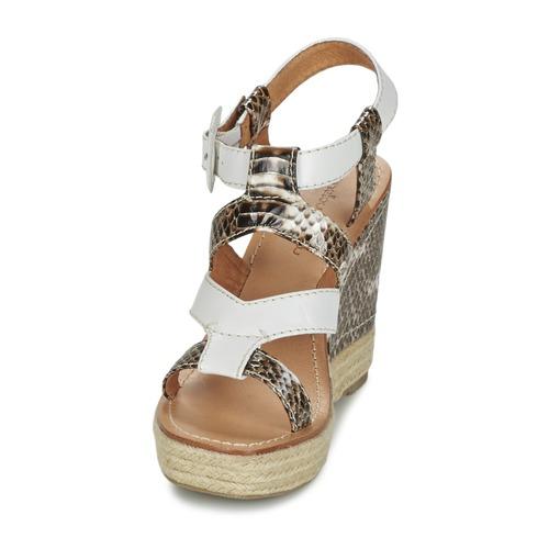 Sandalias Mujer Vanais Zapatos Yellow Mellow BlancoMarrón mwyn0NO8v