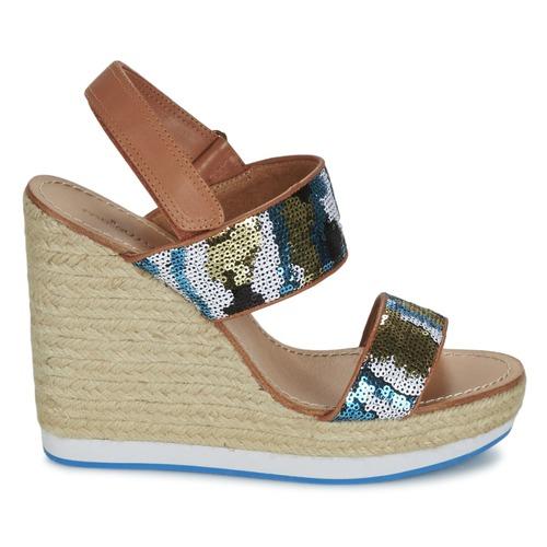 Zapatos Sandalias Azul Mujer Mellow Vabliss Yellow 29WEDYIH