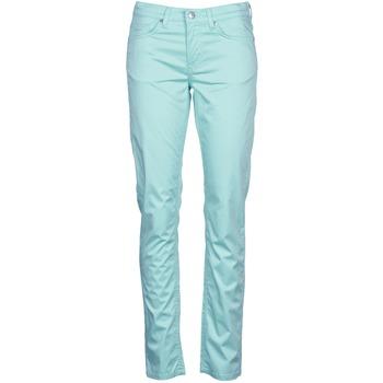 textil Mujer Pantalones con 5 bolsillos Gant 410478 Gris