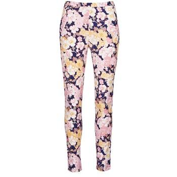 textil Mujer pantalones con 5 bolsillos Gant 414705 Rosa / Azul