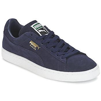 Zapatos Zapatillas bajas Puma SUEDE CLASSIC + Marino