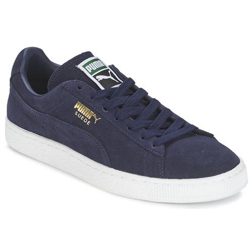 Zapatos promocionales Puma SUEDE CLASSIC + Marino  Casual salvaje