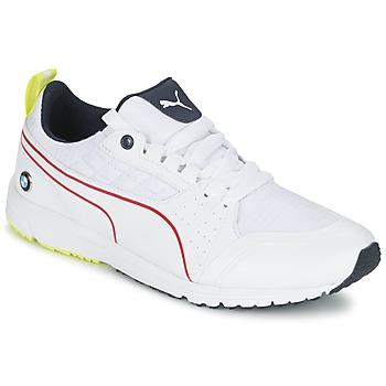 Zapatos Hombre Zapatillas bajas Puma BMW MS PITLANE Blanco / Amarillo
