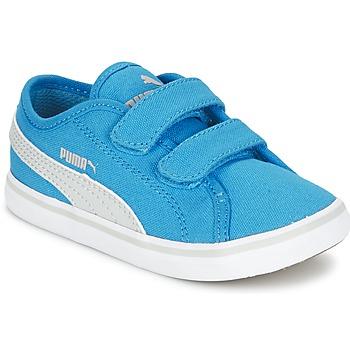 Zapatos Niños Zapatillas bajas Puma ELSU V2 CV V KIDS Azul / Gris