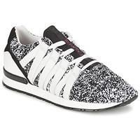 Zapatos Mujer Zapatillas bajas Serafini MIAMI Negro / Blanco