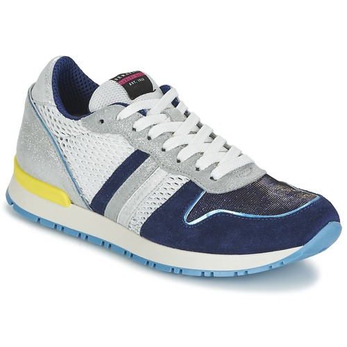 Zapatos Mujer Zapatillas bajas Serafini LOS ANGELES Azul / Blanco