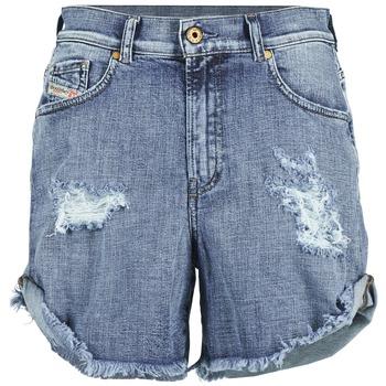 textil Mujer Shorts / Bermudas Diesel DE SCOTT Azul