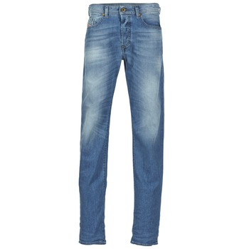 textil Hombre vaqueros rectos Diesel BUSTER Azul / 842h