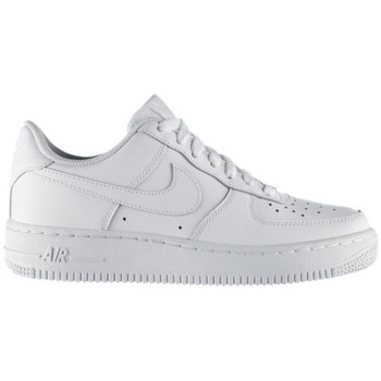 Zapatos Niños Zapatillas bajas Nike AIR FORCE LOW GS BLANC