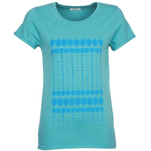 textil Mujer camisetas manga corta Kulte JULIETTE BATIK Azul