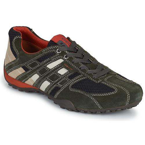 Zapatos especiales para hombres y mujeres Geox SNAKE Gris
