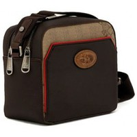 Bolsos Hombre Macuto La Martina LADY BROWN RED Marrone