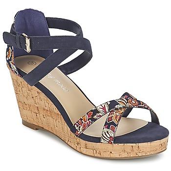 Zapatos Mujer Sandalias Moony Mood EMARLENE Marino