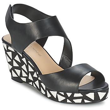 Zapatos Mujer Sandalias Moony Mood EPALINE Negro