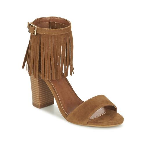 Zapatos Mujer Sandalias Moony Mood ERANDA Camel