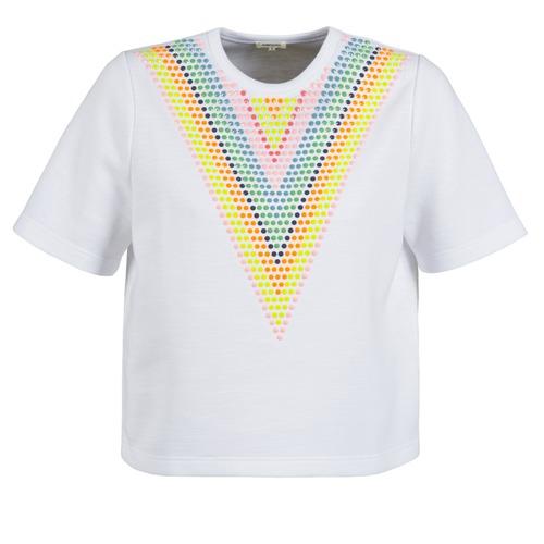 textil Mujer sudaderas Manoush DOUDOU STAR Blanco