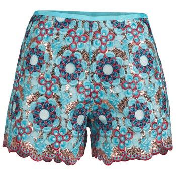 textil Mujer Shorts / Bermudas Manoush FRESQUE Azul