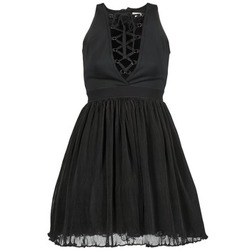 textil Mujer vestidos cortos Manoush MARILACET Negro