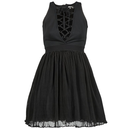 Textil Marilacet Negro Cortos Vestidos Mujer Manoush erCdoBWx
