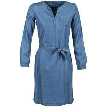 textil Mujer vestidos cortos Tom Tailor JANTRUDE Azul / Medium