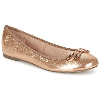Zapatos Mujer Bailarinas-manoletinas Menbur ZINNA Rosa / Gold