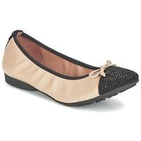 Zapatos Mujer Bailarinas-manoletinas Mam'Zelle NUPO Beige / Negro