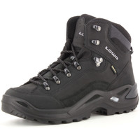 Zapatos Hombre Botas de caña baja Lowa Renegade GTX Mid Noir
