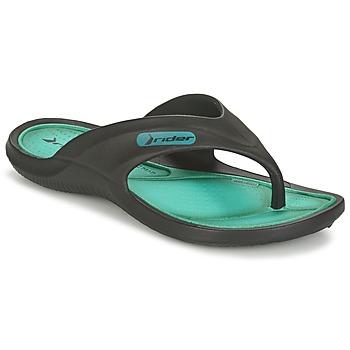 Zapatos Niños Chanclas Rider CAPE VII Negro / Verde