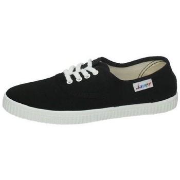Zapatos Mujer Zapatillas bajas Javer Bambas lonas negras Negro
