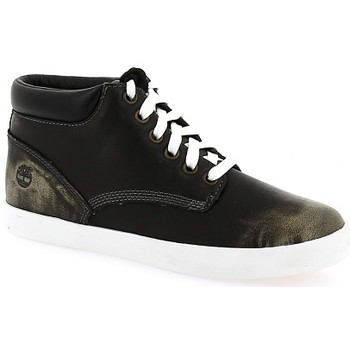 Zapatos Mujer Zapatillas altas Timberland Baskets montantes  Femme New Noir
