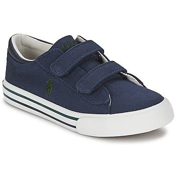 Zapatos Niños Zapatillas bajas Polo Ralph Lauren HARRISON EZ Azul